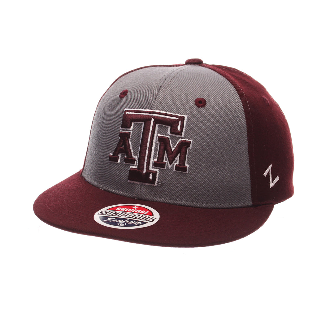 Texas A&M University Custom Mid (ATM) Varied Colors Varied Panels Adjustable hats by Zephyr
