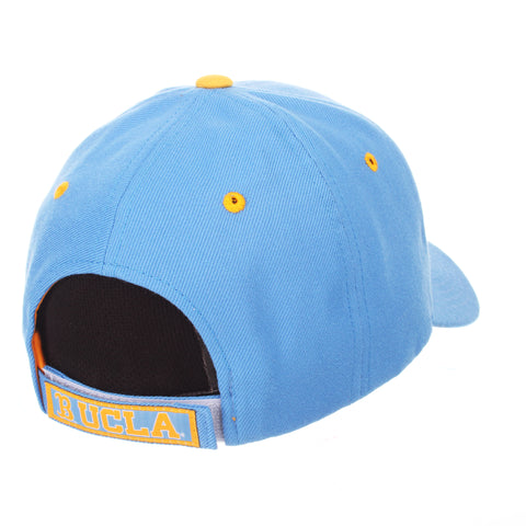 California (Los Angeles) Competitor Standard (Low) (UCLA) Blue Nuggets Zwool Adjustable hats by Zephyr