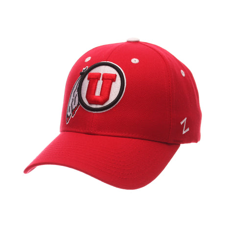 Utah Competitor Standard (Low) (U FEATHER) Red Zwool Adjustable hats by Zephyr
