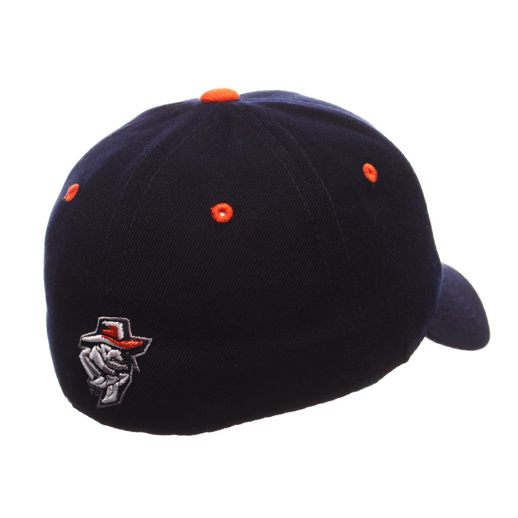 Texas (El Paso) DH Standard (Low) (UTEP) Navy Dark Zwool Fitted hats by Zephyr