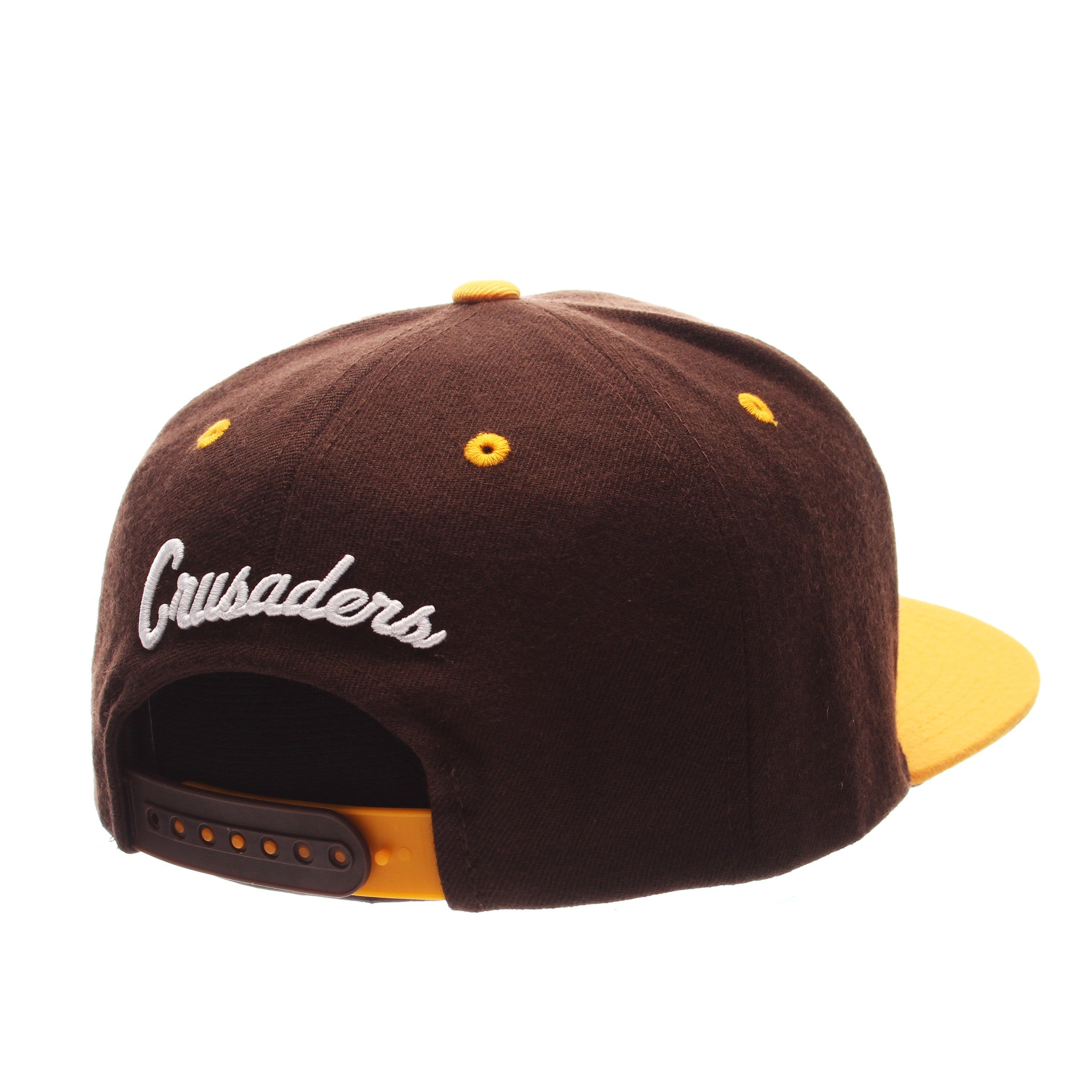Valparaiso University Z11 32/5 (High) (VALPO W/SHIELD) Brown Dark Zwool Adjustable hats by Zephyr
