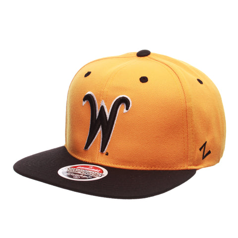 Wichita State University Z11 32/5 (High) (W) Gold Zwool Adjustable hats by Zephyr