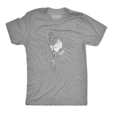 Men's Betende Hände Tee - Heather Gray