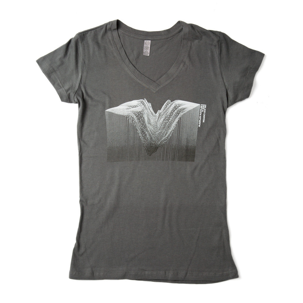 Women's Black Canyon V-Neck Tee
