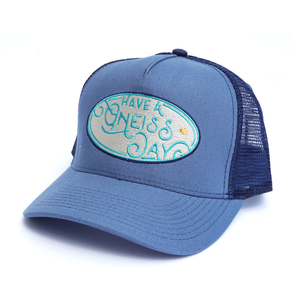 Have A Gneiss Day Hat - Blue