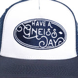 Have A Gneiss Day Hat - Navy
