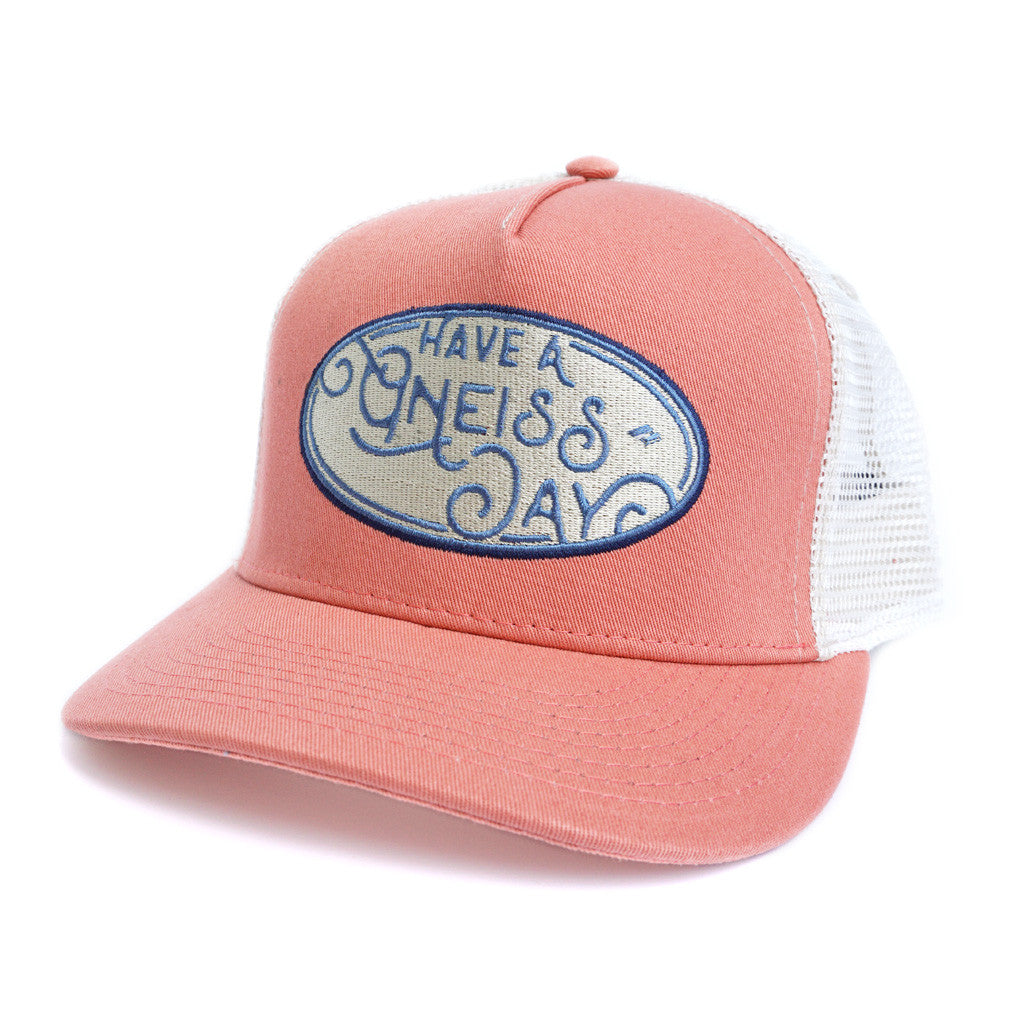 Have A Gneiss Day Hat - Faded Red