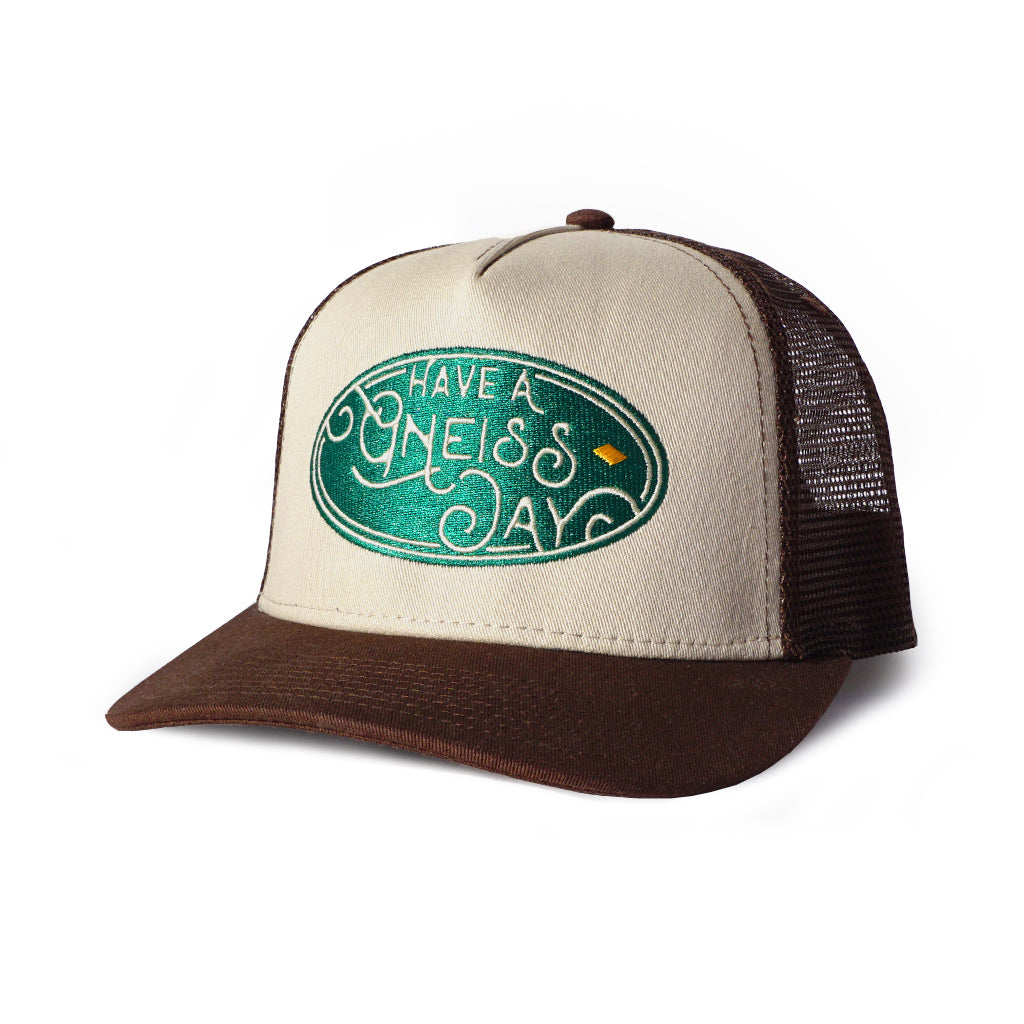 Have A Gneiss Day Hat - Brown