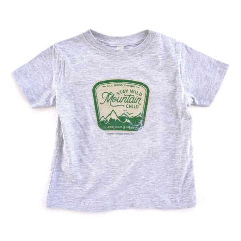 Mountain Child Kids Tee
