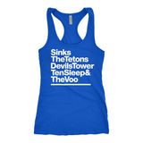 Women's Wyoming Crags Racerback Tank