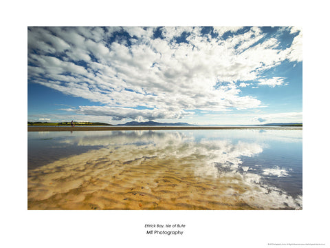 Clouds over Ettrick Bay