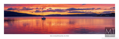Early morning Rothesay Bay