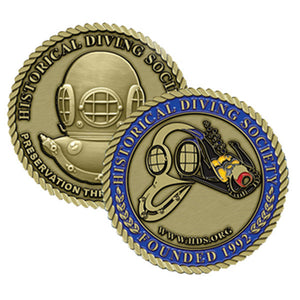 HDS Founded Challenge Coin
