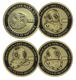 Complete Series Set SPECIAL Sets #2 and #3 Helmets in History Challenge Coin Set (8 Coins)