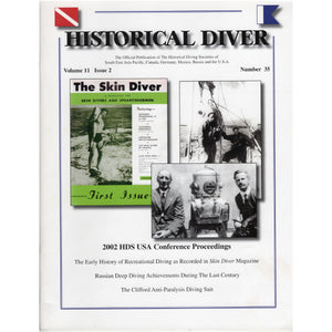 The Journal of Diving History # 035