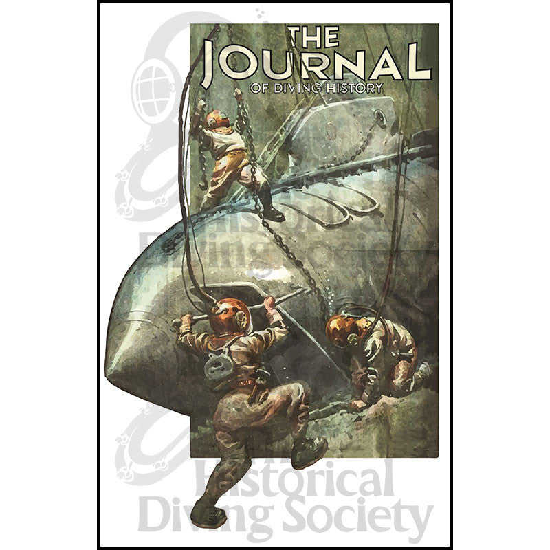 The Journal of Diving History Poster