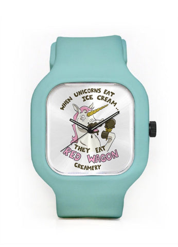 Unicorns Love Ice Cream Watch