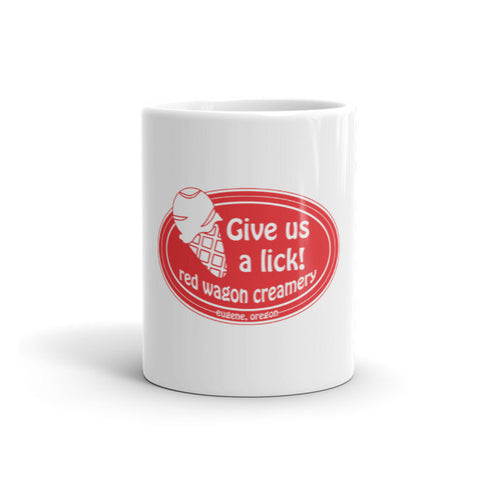 Ceramic Give Us A Lick Mug
