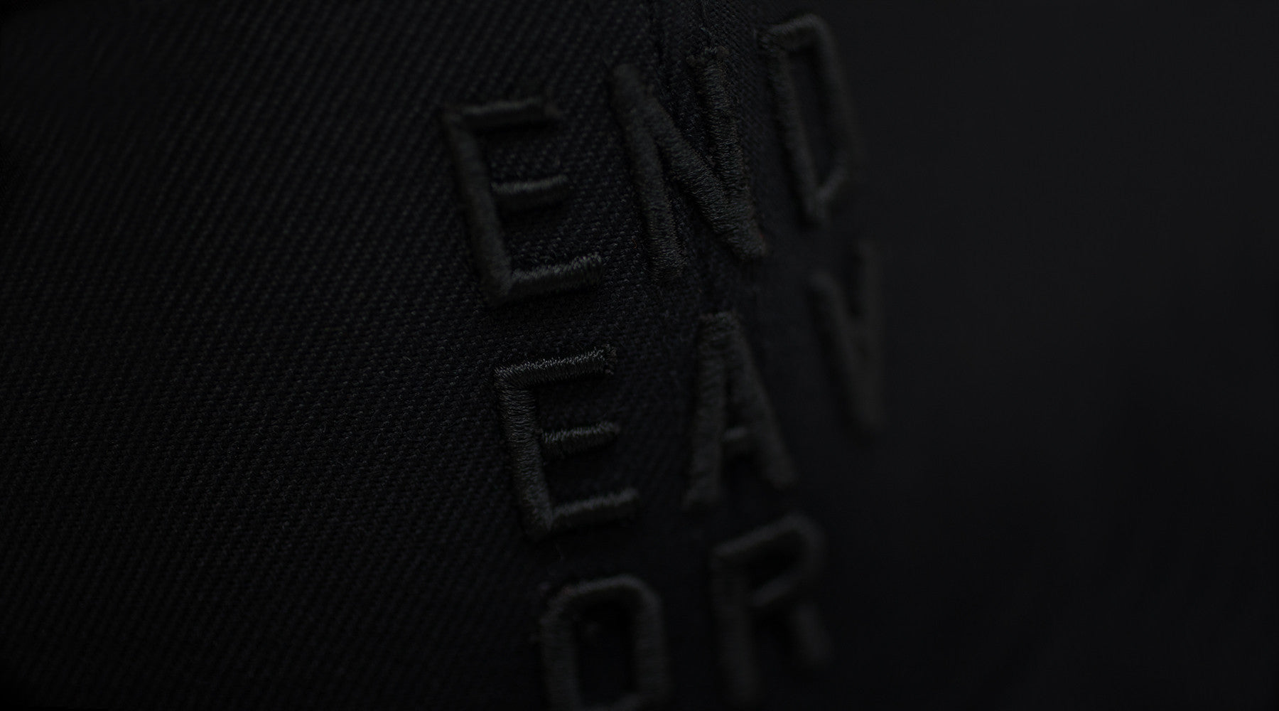 Endeavor Snapback Logo Apparel Header