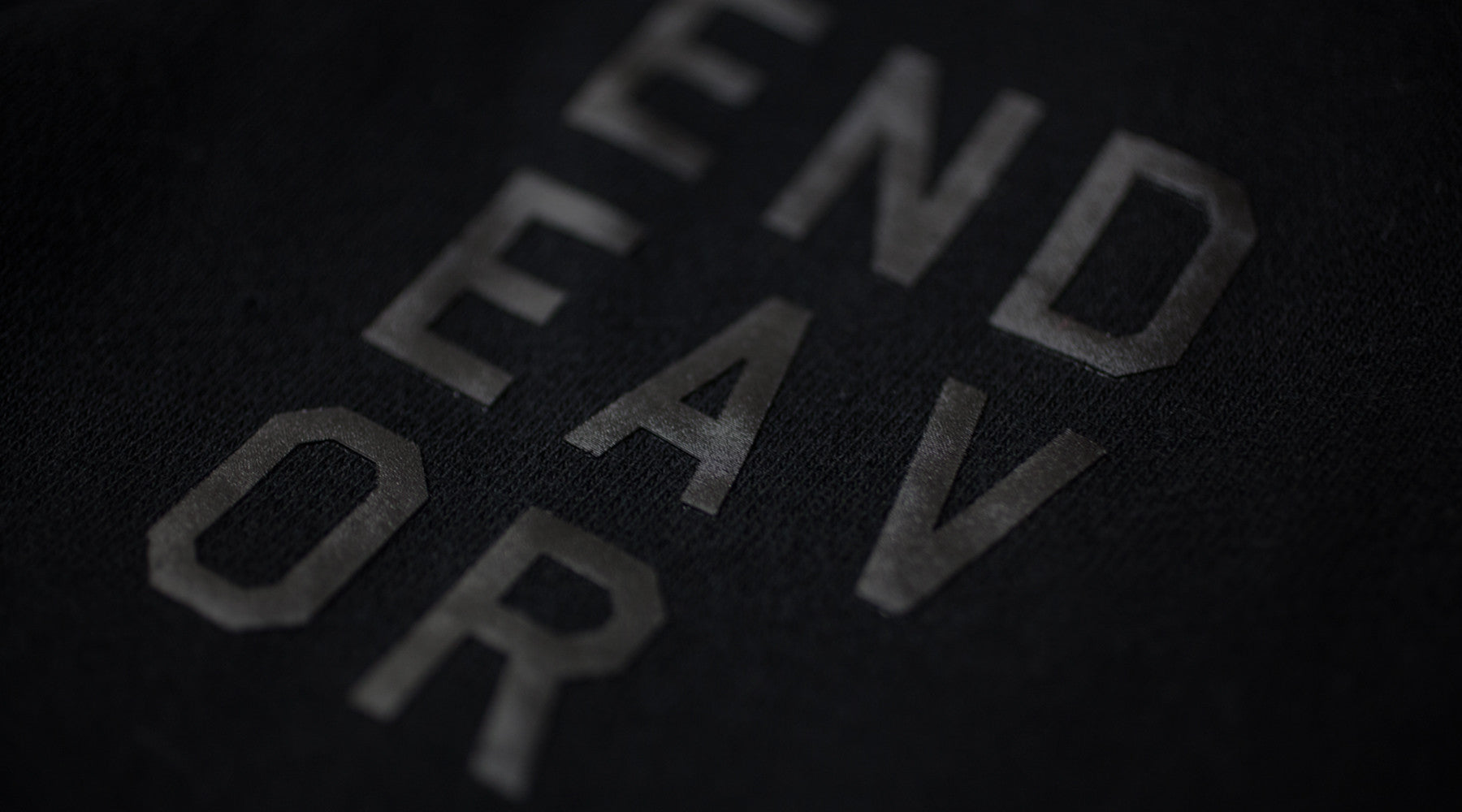 Endeavor Stacked Logo Apparel Header