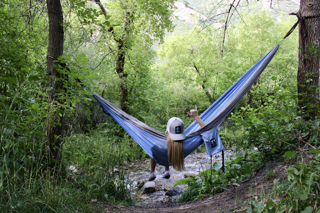 My First Time Hiking with a Hammock