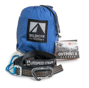Outpost Camping Hammocks With Integrated LiteSpeed Suspension System