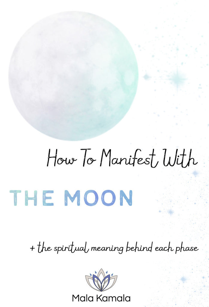 How To Manifest With The Moon And The Spiritual Meaning Behind Each Phase