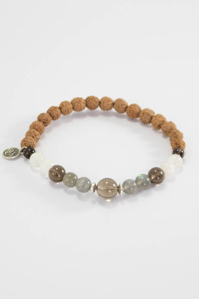 The Moon Dust Mala Bracelet - Mala Kamala Mala Beads