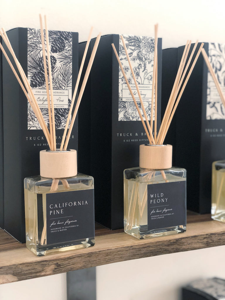 Redwood + Rose | Reed Diffuser