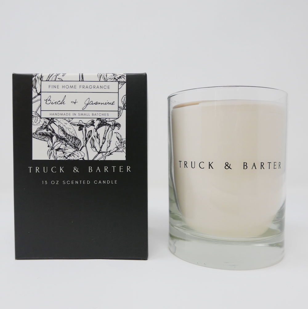 Birch + Jasmine | Scented Candle