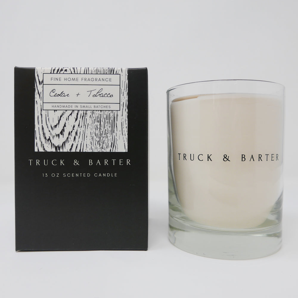 Cedar + Tobacco | Scented Candle