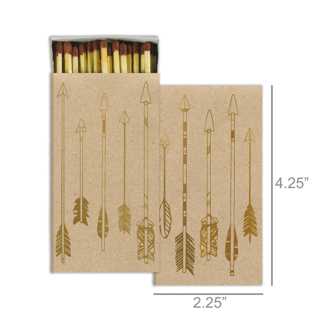 Arrow Decorative Matches