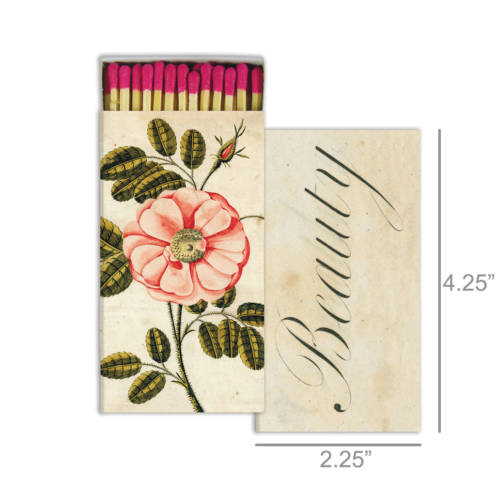 Rose/Beauty Decorative Matches