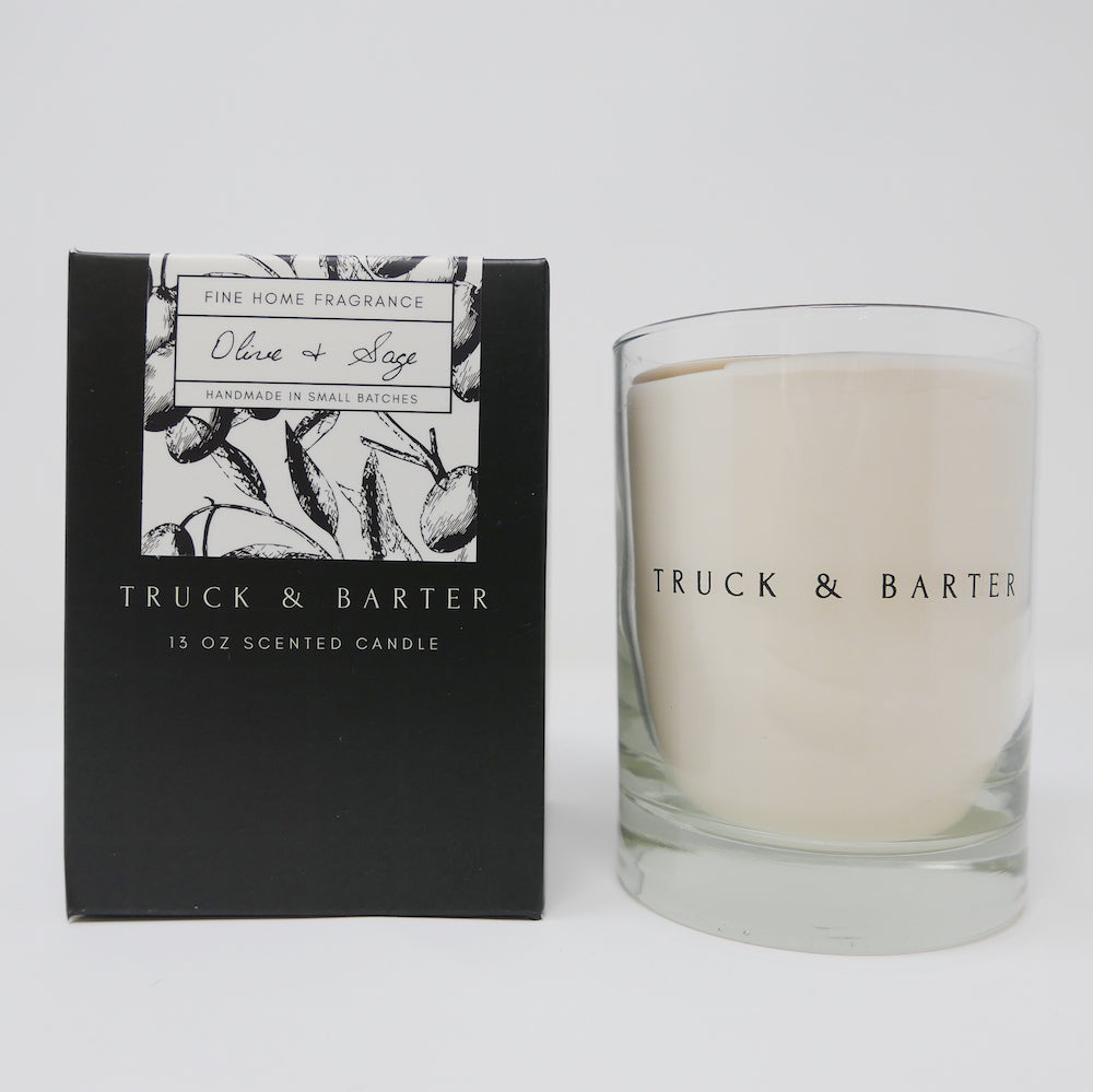 Olive + Sage | Scented Candle