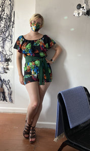 Off the Rack ~ Reviewing the Bolero Ruffled Romper by Hourglassy