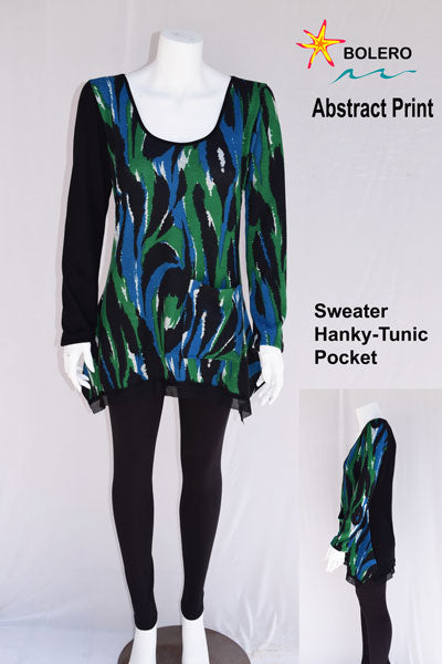 Hanky-Tunic with sleeves