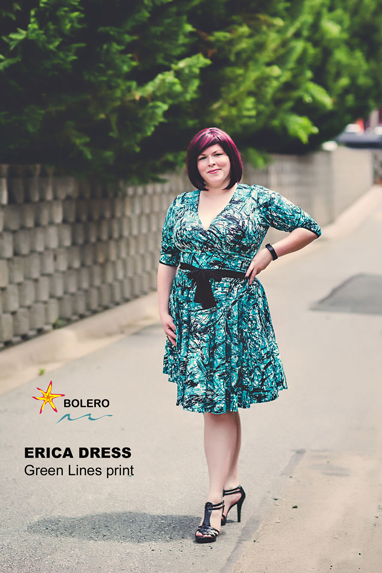 The Erica Dress - DD+ Model