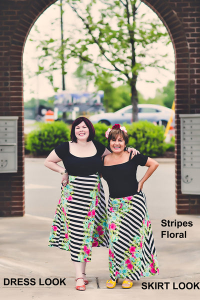Go With The Flow Maxi Skirt