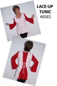 Lace-Up Hanky Tunic