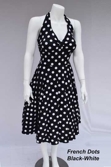Halter Retro Dress