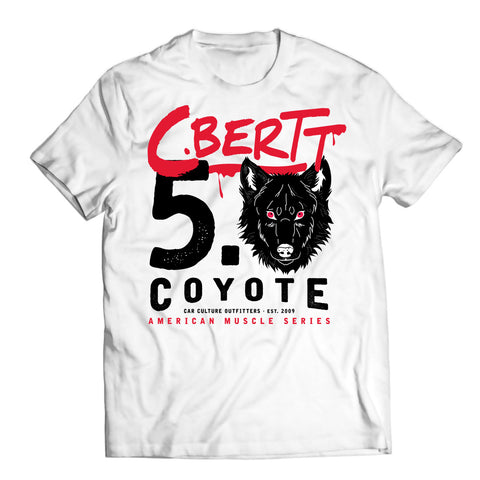 COYOTE TRIBUTE WHITE - convertiblebertt