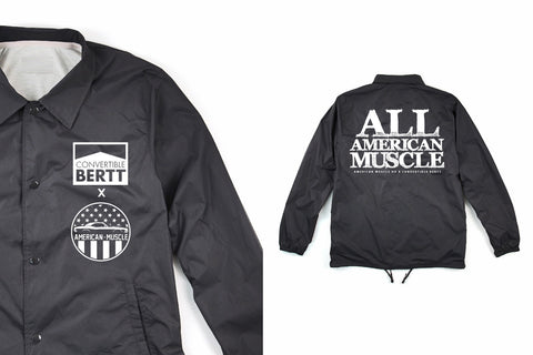 ALL AMERICAN MUSCLE TRACK JACKET