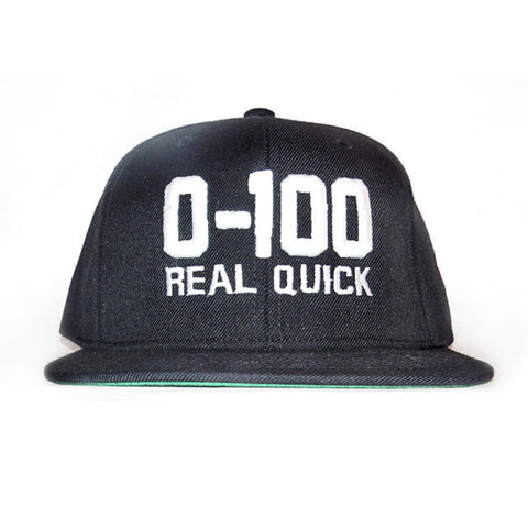 ZERO TO 100 REAL QUICK HAT by CONVERTIBLE BERTT - convertiblebertt