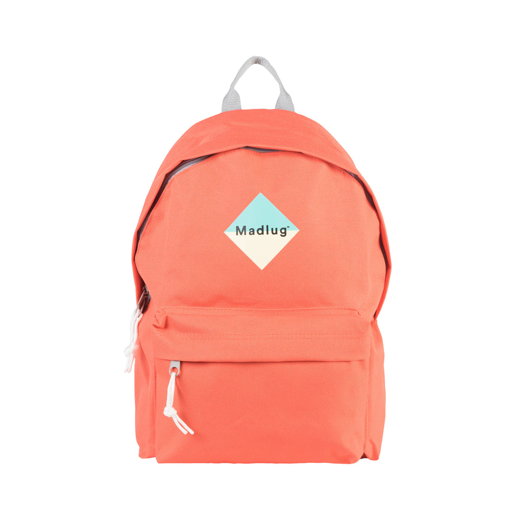 Coral Orange Backpack