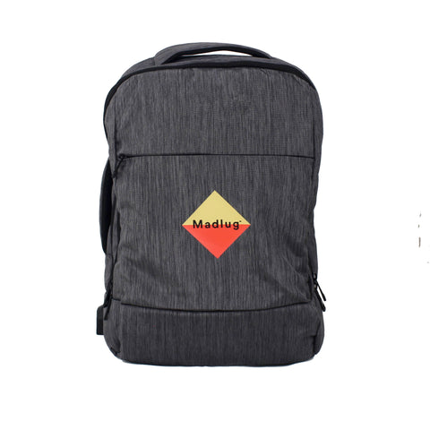 Grey Tech Backpack