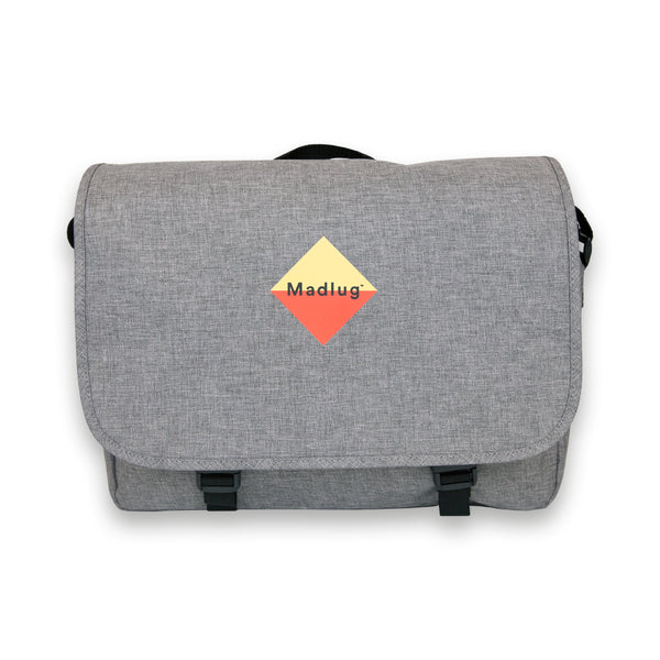 Marble Grey Messenger Bag