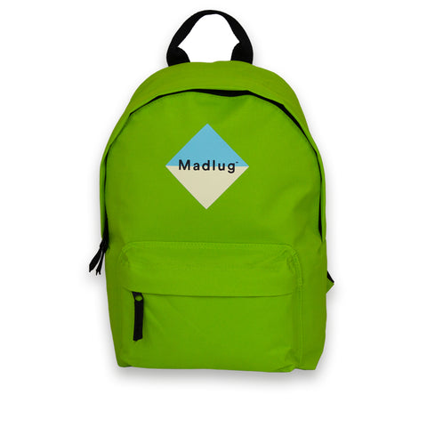 Lime Green Mini Backpack