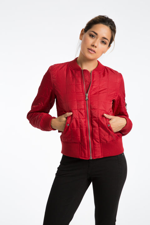 The Quilted Basic Bomber