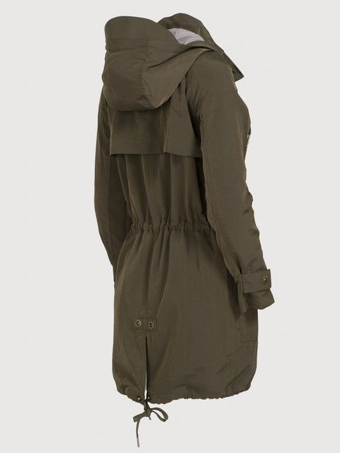 The long anorak Dark Olive