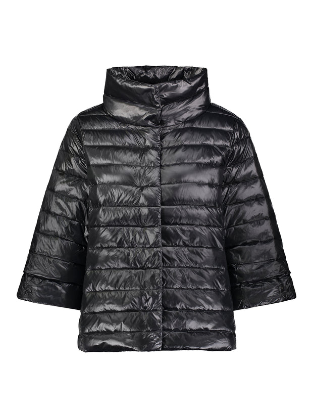 Crop Sleeve Puffer Jacket